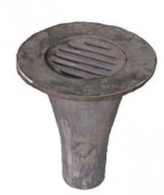 Воронка чугунная водосливная ВР – 100. Черновцы. фото 1