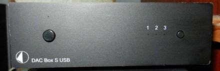 Цап Pro-Ject DAC Box S USB. Киев. фото 1
