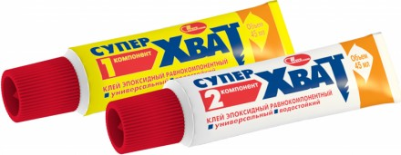 Клей для пластмаси, металу, дерева, скла, металла Супер Хват. Киев. фото 1