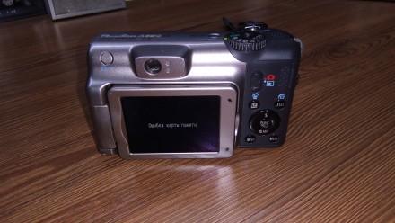 Продам отличный фотоаппарат Canon, состояние отличное, все работает на ура, полн. Лубны, Полтавская область. фото 6