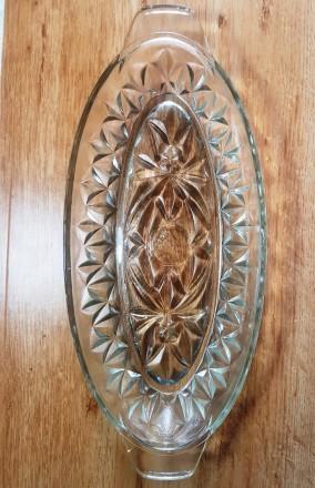 Селедочница стекло. Ставище. фото 1