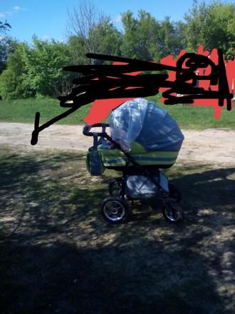 Продам коляску срочно б.у.зима-лето. Новопсков. фото 1