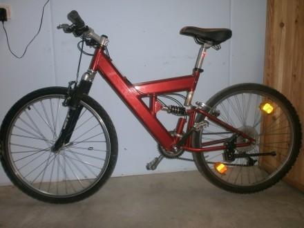 Велосипед горный алюминиевая рама, из Германии. Черкассы. фото 1