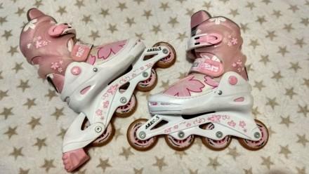 Ролики детские регулируются по размеру ножки. Кропивницкий. фото 1