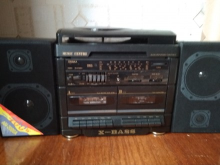 Продам музыкальный центр OSAKA AN 2010 A 2 - х кассетный, в упаковке.. Чернигов. фото 1