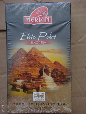чай Mervin Elite Pekoe. Черкассы. фото 1