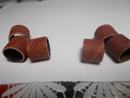 Шлифовальные наждачные насадки для гравера бормашин DREMEL 12,7мм зерно 120. Лубны. фото 1