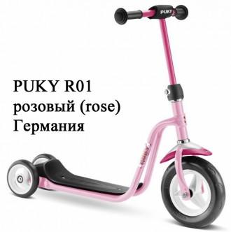 Лёгкий трёхколёсный самокат Puky R 1. Для деток от 2-х до 5 лет. Германия.. Винница. фото 1
