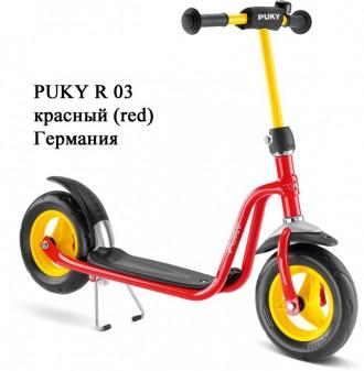 Легко управляемый самокат Puky R 03 (от 3-х лет).Германия.. Винница. фото 1