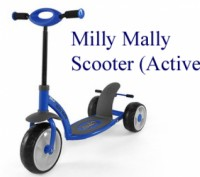 Milly Mally Scooter Active (от 2,5 до 7 лет). Самокат из Польши.. Винница. фото 1