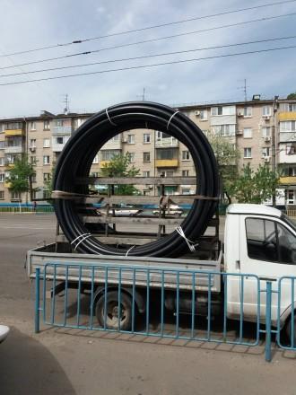 Труба полиэтиленовая в ассортименте. Новомосковск. фото 1