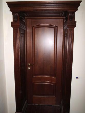 Изготовление деревянных дверей. Херсон. фото 1