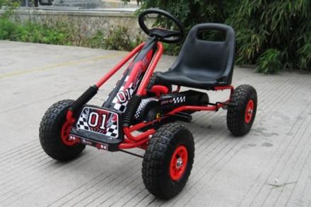 Детский Картинг, педальная гоночноая машина M 0645. Днепр. фото 1