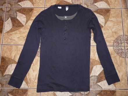 Рубашка  реглан G-Star тёмно-серый size L/50-52 р. оригинал за 80 грн.,. Черкассы. фото 1