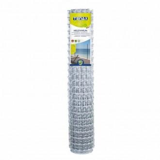 Сетка для ограждения TENAX Миллениум 35х48 мм 2х50 м серебристая. Винница. фото 1
