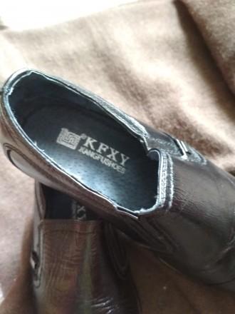 Туфлі чорні класичні кожані. Чернигов. фото 1