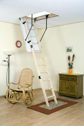 Чердачная лестница OMAN TERMO S 120х70 см. Винница. фото 1