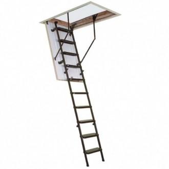 Чердачная лестница OMAN SOLID TERMO 120х70 см. Винница. фото 1