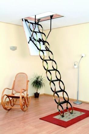 Чердачная лестница OMAN FLEX TERMO 120х70 см. Винница. фото 1
