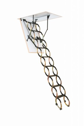 Чердачная лестница OMAN FLEX TERMO METAL BOX 120х70 см. Винница. фото 1