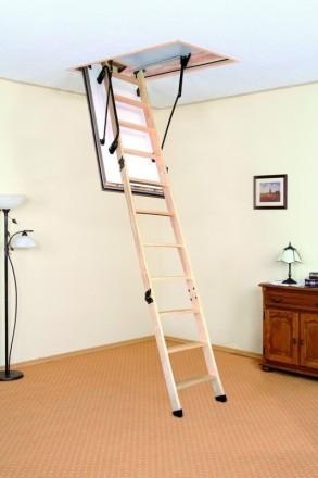 Чердачная лестница OMAN POLAR 120х70 см. Винница. фото 1