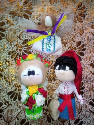 Кукла мотанки Украинский сувенир. Запорожье. фото 1