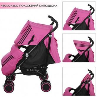 Детская прогулочная коляска-трость Camino Sport для малыша или малышки. Славянск. фото 1