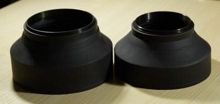 Бленда резиновая 3в1 есть на 55мм и на 67мм. Запорожье. фото 1