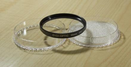 Светофильтр DIGI OPTIC UV 55mm, УФ защитный фильтр. Запорожье. фото 1