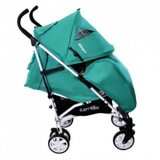 Детская прогулочная коляска-трость CARRELLO Allegro. Славянск. фото 1