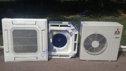 Продам кассетный кондиционер инвертор Mitsubishi Electric до 50 м². Киев. фото 1