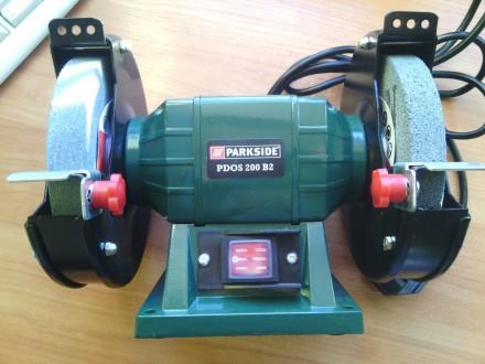 PARKSIDE® двойной шлифовальный станок PDOS 200 B2. Белая Церковь. фото 1
