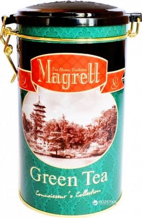 Индийский крупнолистовой зеленый чай Magrett 200 г.. Миколаїв. фото 1