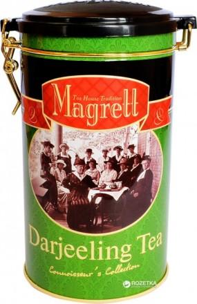 Индийский чай, черный Darjeeling крупнолистовой Magrett 200 г.. Миколаїв. фото 1
