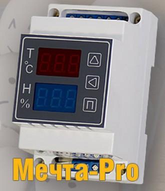 МЕЧТА-PRO терморегулятор-регулятор влажности-таймер поворота лотков в инкубаторе. Николаев. фото 1