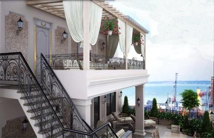 Продается двухуровневый пентхаус с террасой и видом на море.. Одесса. фото 1