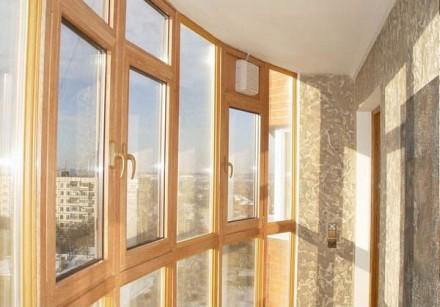 Балконные рамы из дерева, 200 грн./м2. Чернигов. фото 1