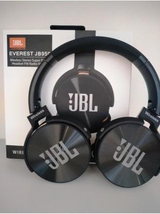 Беспроводные наушники JBL 950 BT Bluetooth с МР3 и FM. Днепр. фото 1