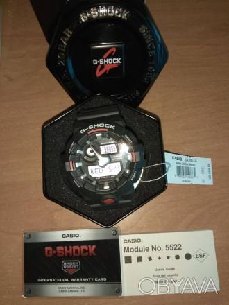 Предлагаю легендарные, не убиваемые, часы марки Casio, а именно Casio G-SHOCK GA. Киев, Киевская область. фото 1