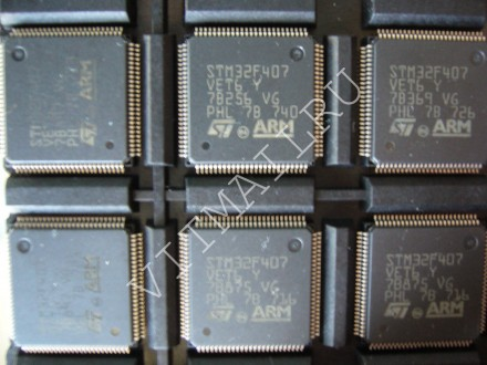 Микроконтроллер STM32F407VET6 ARM 168MHz Cortex-M4 32-bit 512КБ. Александрия. фото 1