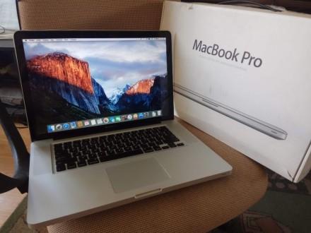 MacBook Pro А1286 – Mid 2009/ 4Гб ОЗУ/ 3 години батарея/комплект. Козелец. фото 1