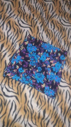 Летняя юбка трикотажная цветной расцветки Atmosphere. Полтава. фото 1