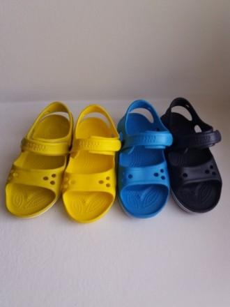 Кроксы,Crocs,Босоножки сандали пляжные из пены на мальчика 24,25,26,30. Вольногорск. фото 1