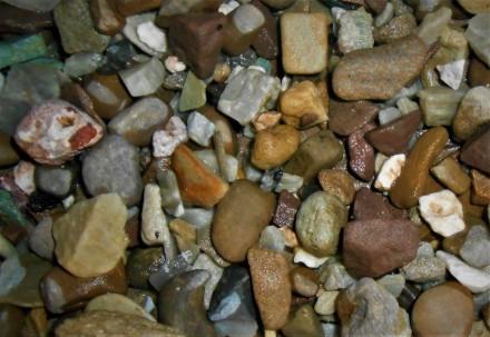 Камінь галька для акваріумів та водоймів в асортименті. Ровно. фото 1