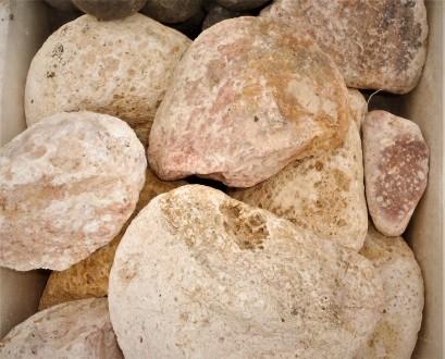 Камінь галька для акваріумів та водоймів в асортименті (екзотичний). Ровно. фото 1