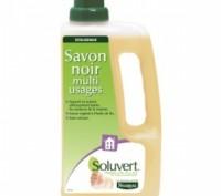 Экологическое мыло на льняном масле для мытья полов Soluvert. Киев. фото 1
