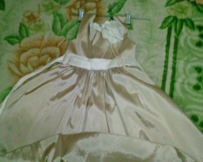 Золотисте плаття 6-12 років Атласне золоте плаття. 6-12 років,  ріст 116-152 с. Ковель, Волынская область. фото 5