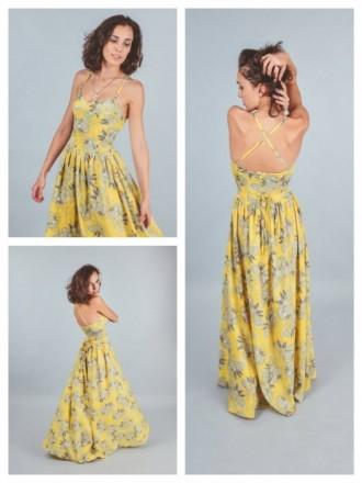Чудесное летнее платье в пол. Ирпень. фото 1