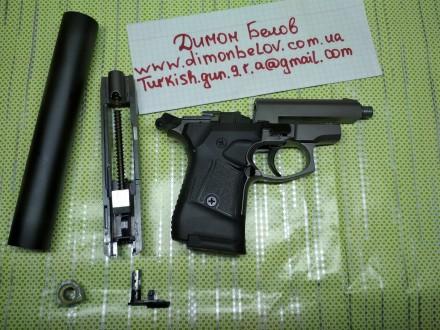 Пистолет Stalker 914 хорош во всех смыслах,крепкий надёжный,отходит 500 выстрело. Киев, Киевская область. фото 9