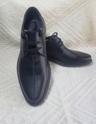 Туфли черные  кожаные фирмы  Lord. Ставище. фото 1